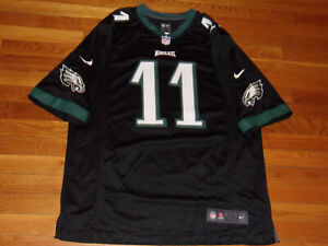 NIKE PHILADELPHIA EAGLES CARSON WENTZ NFL FOOTBALL JERSEY MENS XL EXCELLENT