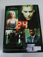 24 TEMPORADA SEASON 3 COMPLETA - 6 DVD - ESPAÑOL ENGLISH KIEFER SUTHERLAND - AM