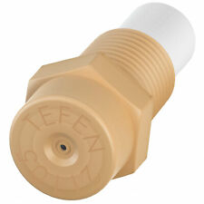 """Plastic Fog Nozzle W/Poly Filter Misting Poultry Cream 1/8"""" NPT 2 GPH 100 Pack"""