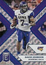 2018 Elite Draft Picks Aspirations Blue #27 David Johnson #21/25  NORTHERN IOWA