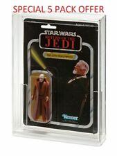 5x GW Acrylic MOC Carded Figure Display Case Star Wars - Std Bubble (ADC-001)