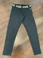 NEW Victoria's Secret PINK Ultimate Fleece Lined Leggings Large