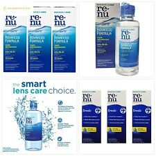 Renu Multi-Purpose Contact Lens Solution 2 oz Travel Size (Pack Of 3)