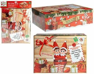 CHRISTMAS ELF EVE BOX Surprise Stocking Box Special Delivery Filler Santa Mails