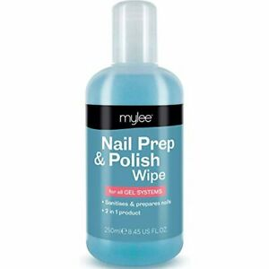 Prep + Wipe Gel Nail And Manicure Polish Residue Cleaner Remover Multi Purpose