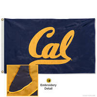 University of California Embroidered and Appliqued Nylon Flag