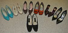 Lot 7 SZ 8 8 1/2 women shoes Liz Clairborne Guess Calvin Klein Amanda blue black