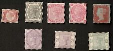 Great Britain Queen Victoria Mixed Lot of 7 Stamps