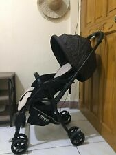 Apruva Baby Stroller Black Used Lightweight