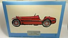 Pocher 1931 Alfa Romeo 8C 2300 Monza 1:8 Scale Plastic Model Car Kit