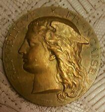 Medaille en bronze con ours universel d'animaux reproducteurs 1900