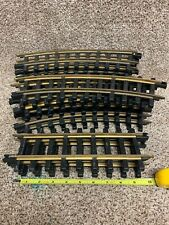Bachmann Brass & Silver G Scale 19 Curve and 4 Straight Tracks