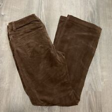 South Pole Juniors Pants sz 7 Brown Stretch Casual Corduroy Bootcut TH53