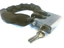 "2' Foot Bicycle Lock Chain - 3/8"" Hardened Grade 100 - Defender Security Lock"