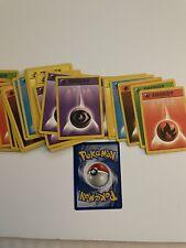 Pokemon Energy Cards Near mint 30 pack