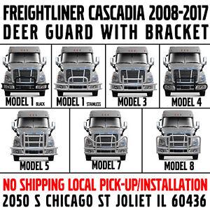 Freightliner Cascadia 2008-2017 Deer Guard 7 Models Ex-Guard Animal Tuff Moose