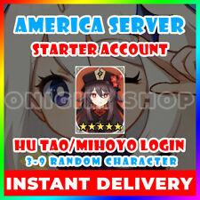 [America/NA][Instant] Fates Genshin Impact Hu Tao Fischl Bennett Starter Account