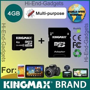 NEW MicroSD Card for Kenwood, Garmin, TomTom, Becker GPS Navigator and City Maps