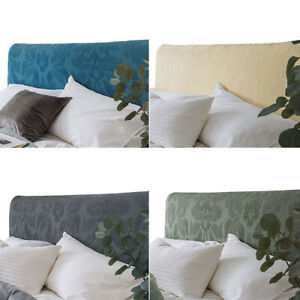 Modern Headboard Cover Stretch Bed Head Slipcover Backrest Full Wrap Protector