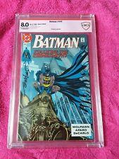 Batman #444 signed by Jim Aparo CBCS