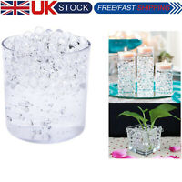 500 X Water Clear Aqua Beads Soil Bio Gel Ball Wedding Centrepiece Vase Filler