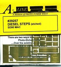 HO SCALE:  PROTO POWER WEST 29257:  DIESEL STEPS: SD90 MAC