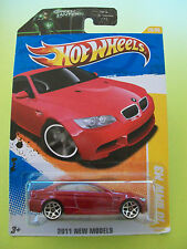 Hot Wheels 2011 New Models - '10 BMW M3 #26/50 - New In Packet 2010
