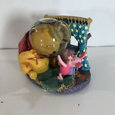 Disney Store Winnie The Pooh Music Box Water Globe Rumbly In My Tumbly