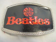 OLD BEATLES GROUP MUSIC BELT BUCKLE CLOTHING