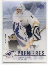 2007-08 Upper Deck Ice 167 Jonas Hiller Rookie 305/999