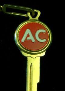 AC DELCO Crest KEY 1935-1966 Vintage Chevrolet Pontiac Cadillac Oldsmobile Buick