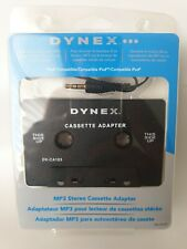 Dynex Cassette Adapter Universal for Mp3 – New