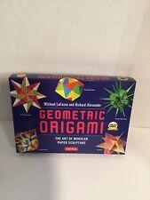 Geomodular Origami Kit : The Art of Modular Paper Sculpture by Richard L.