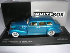 WHITEBOX CADILLAC SERIES 75 V8 Sedan Azul Azul Año fabricación 1939 , 1:43 wb153