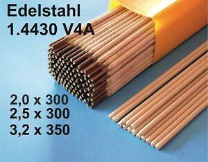 Schweißelektroden Edelstahl 1.4430AC E316L-17 Stabelektroden
