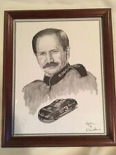 Dale Earnhardt Print, Pencil Drawing by Dale Adkins - Price Reduced!
