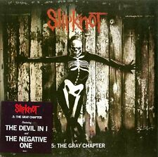 """SLIPKNOT """"5: THE GRAY CHAPTER""""  double lp sealed"""