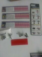Transformers Vintage G1 Tech Specs lot &  weapons Ravage Rumble Frenzy