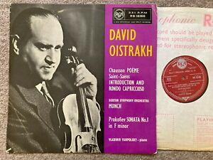 RCA RB 16166 UK 1st David Oistrakh : Chausson Poeme / Saint-Saens NM