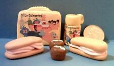 Barbie Sized Beatles Yellow Submarine Lunch Box Set