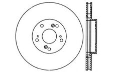 StopTech Sport Drilled Disc fits 2005-2008 Honda Civic CR-V  STOPTECH