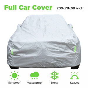Universal Car Cover Waterproof Breathable SUV Protection For TOYOTA HIGHLANDER