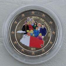 2 Euro Malta 2013 Selbstverwaltung in Farbe unz