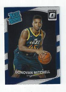2017-18 Donruss Optic #188 Donovan Mitchell RR RC