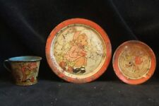 Ohio Art Fern Bisel Peat 3 Tin Dish Set Mary Quite Contrary How Does Your Grow