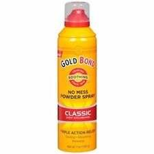 Gold Bond No Mess Powder Spray, Classic Scent with Menthol 7 oz (Pack of 8)