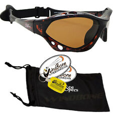 SeaSpecs Classic Tortuga Specs Brown WaterSport Polarized Kitesurfing Sunglasses