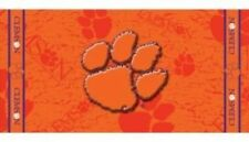 "NCAA Clemson Tigers 100% Cotton Fiber Reactive 30"" X 60"" Beach Dorm Towel NEW!"
