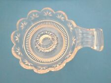 GLASS TAPER CANDLE HOLDER  - VINTAGE - EXCELLENT CONDITION
