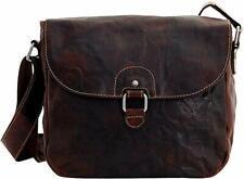 Jack Georges Shoulder Voyager Saddle Brown Genuine Leather Cross Body Bag
